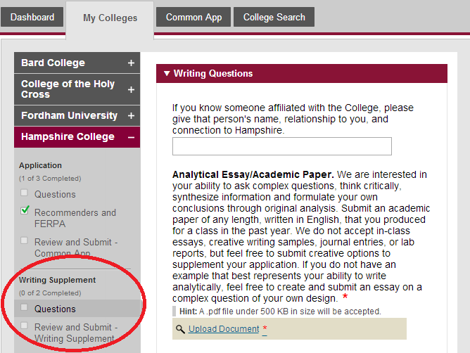 how to write a college essay for common app