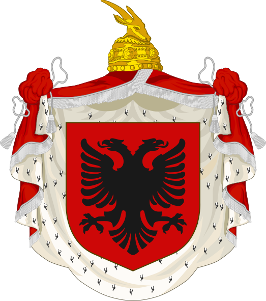 Archivo:Coat of arms of the Albanian Kingdom (1928–1939).svg