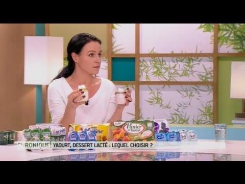 Quelle marque de yaourt choisir : la laitière, yoplait, danone