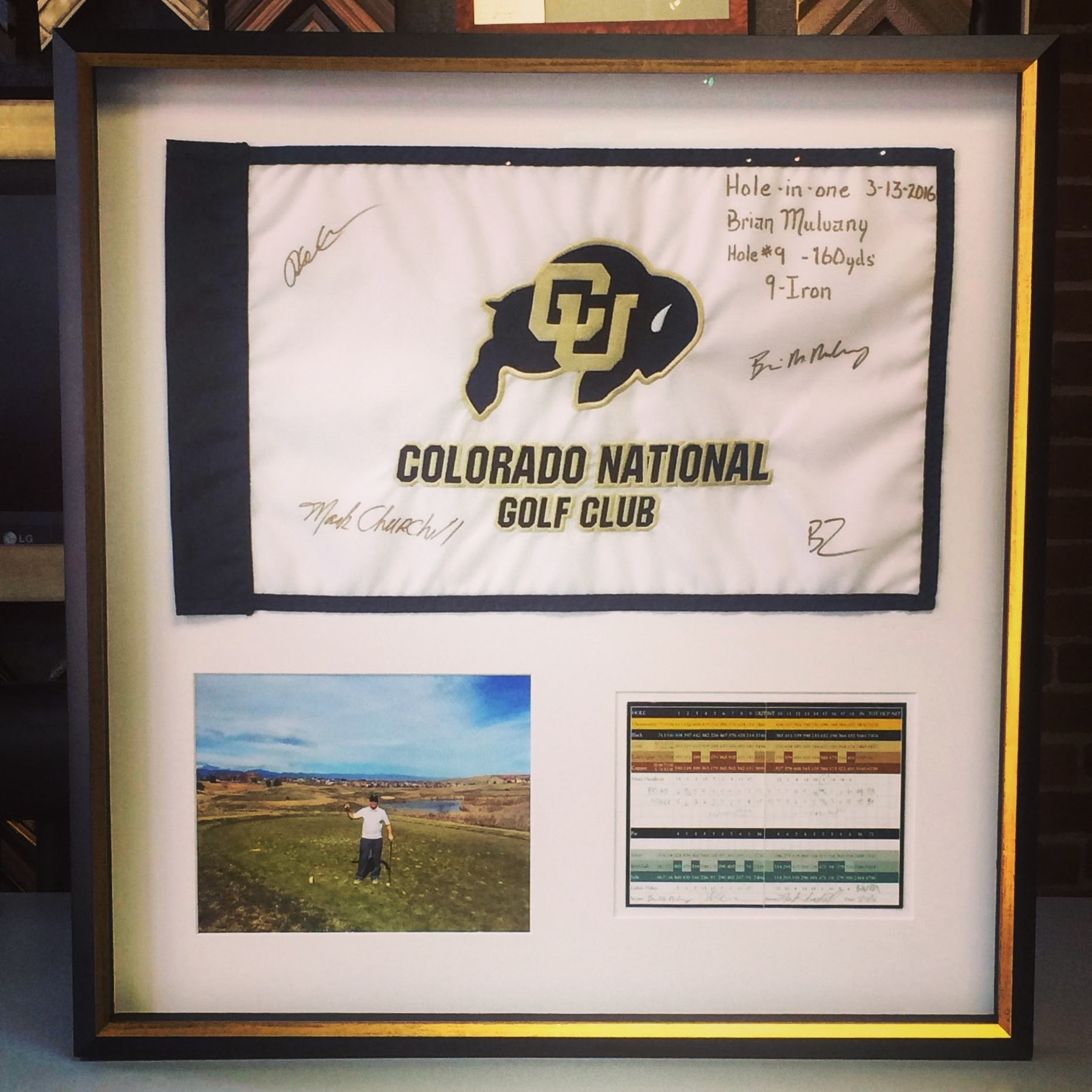 Hole In One Fastframe Of Lodo Expert Picture Framing