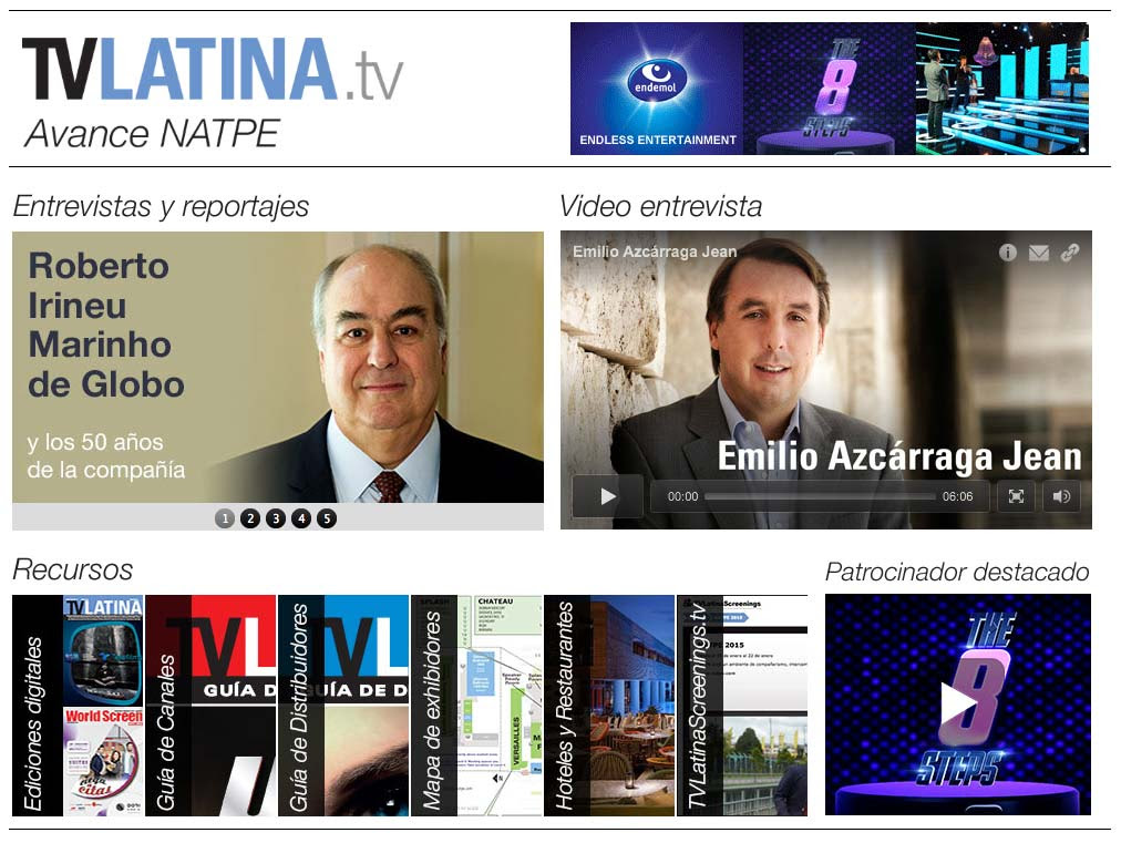 ***Avance de TV Latina para NATPE***