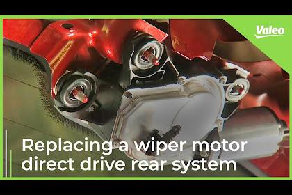Audi A3 Rear Wiper Motor Replacement