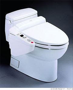 High-tech toilets