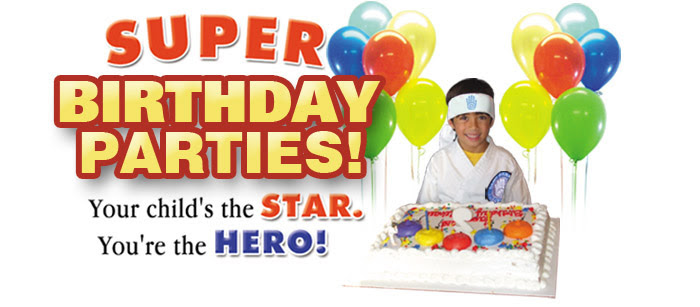 Birthday Parties | Dawn Barnes Karate Kids