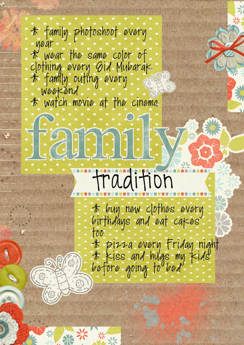 family tradition-web