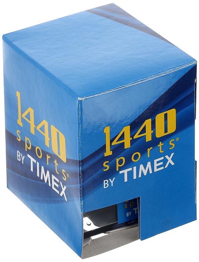Amazon.com: Timex Women's T5J151 1440 Sports Digital Black/Pink ...