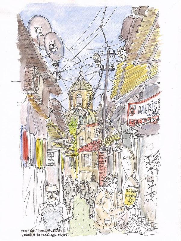 Tahtakale Hamamı, Edirne