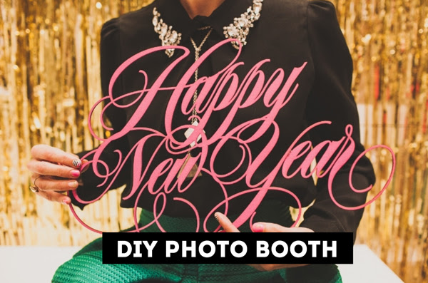Diy At Home New Years Eve Photo Booth The Sweet Escape Creative