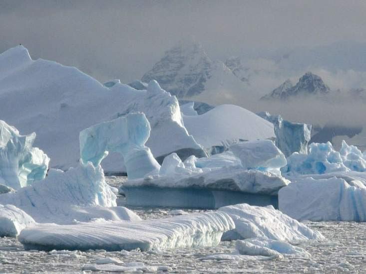 Se incrementa el deshielo de la Antártida