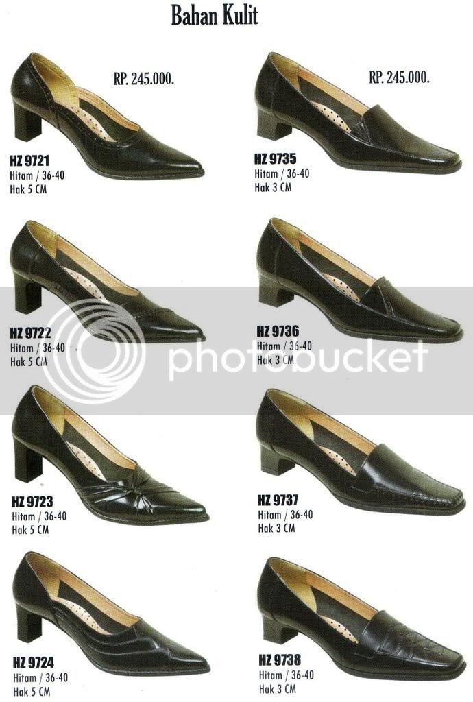 Daftar Harga Sepatu Pantofel Wanita Guru