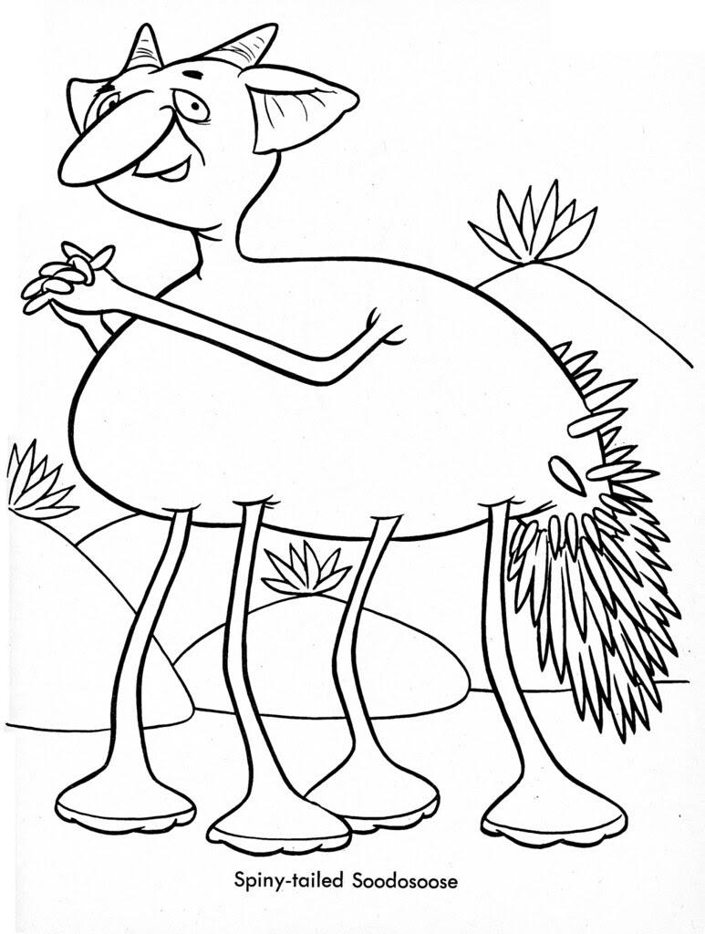 Funny Monsters Coloring Book (Treasure Books, 1965) 18