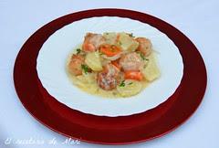 albóndigas de pollo en cazuela (9)