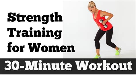 minute strength training  women home workout