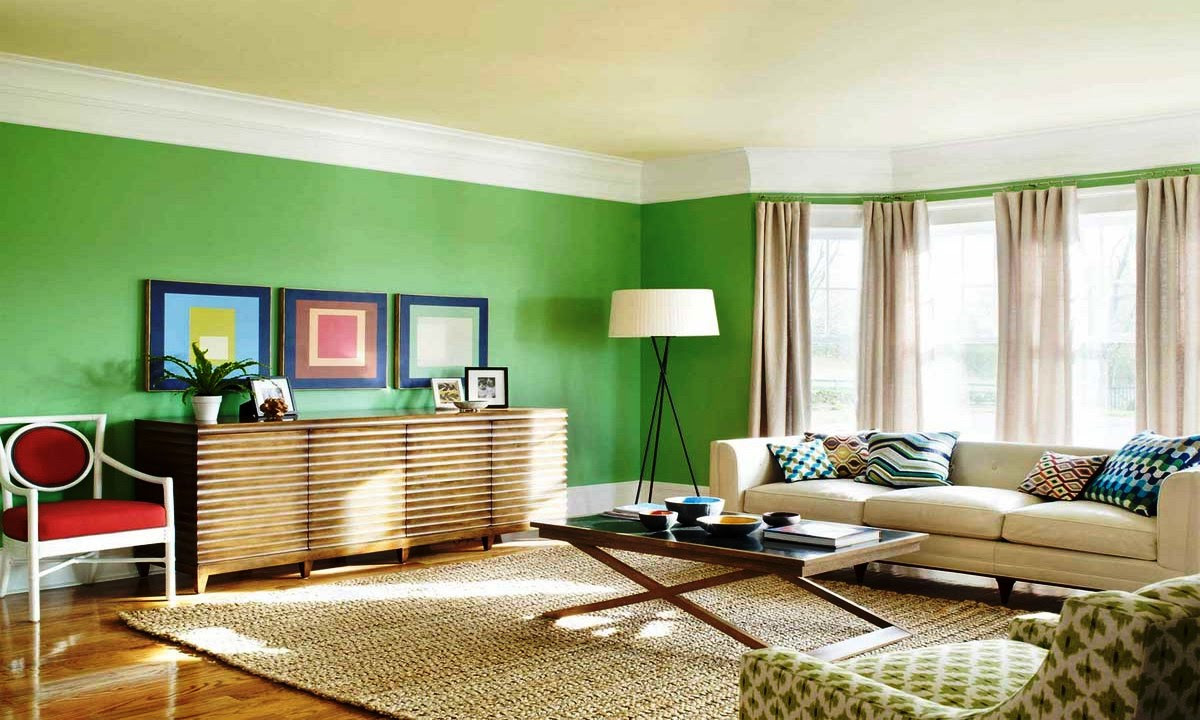 How to Add Green Accent in the Living Room – Some Tips ...