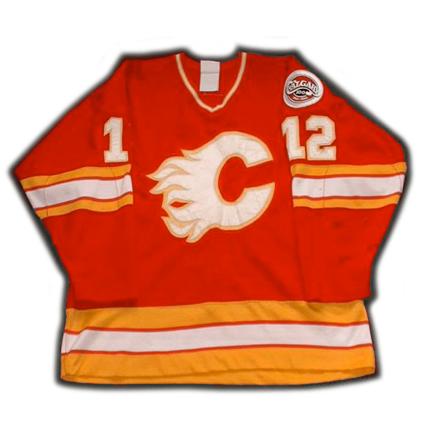 Calgary Flames Hakan Loob jersey