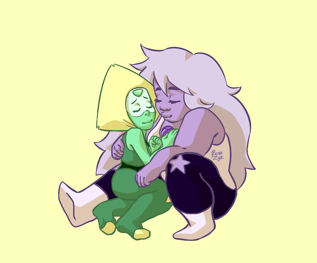 here's to peridot getting the love and attention she deserves