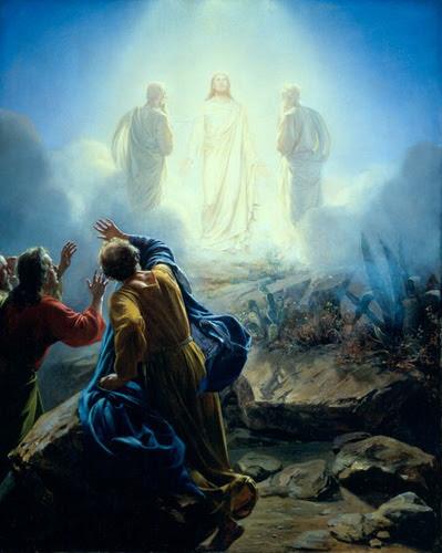 """9º ENCONTRO: """"TRANSFIGURAÇÃO DE JESUS NO MONTE TABOR"""""""