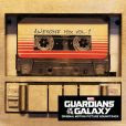 CD Cover Image. Title: Guardians of the Galaxy: Awesome Mix, Vol. 1, Artist: