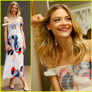 Jaime King Stuns in Summer Dress at Wanderlust Festival