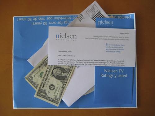 Nielsen Survey by elkit.