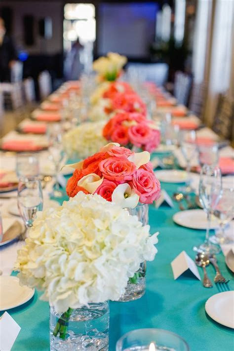 17  best ideas about Coral Wedding Centerpieces on