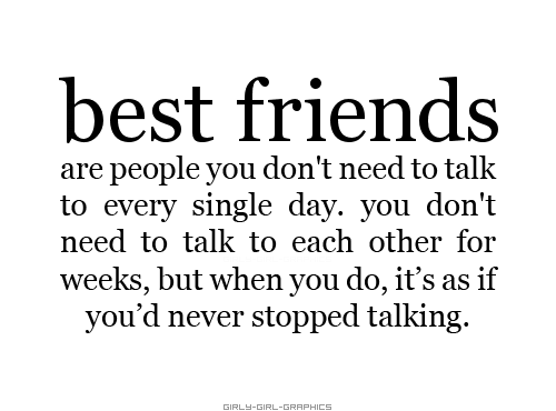 Best Friends Quote: girly-girl-graphics