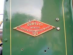 Name Plate Abt locomotive