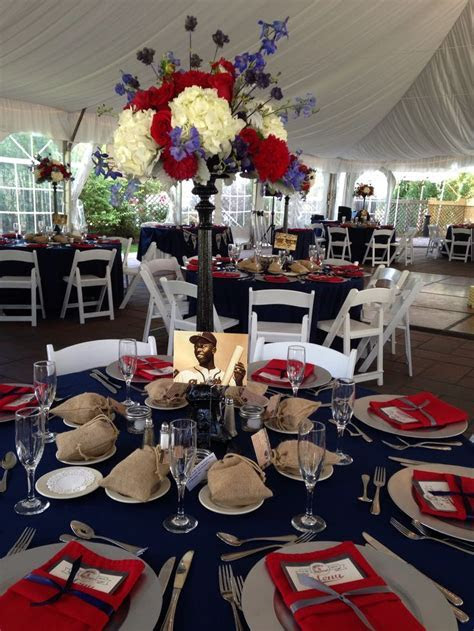11 Best images about softball centerpieces on Pinterest