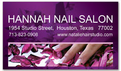 BCS-1079 - salon business card