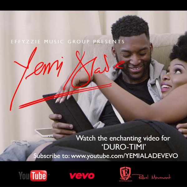 VIDEO: Yemi Alade - Duro Timi (B-T-S)