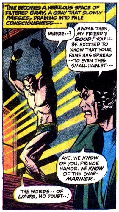 Namor and the Five Ws