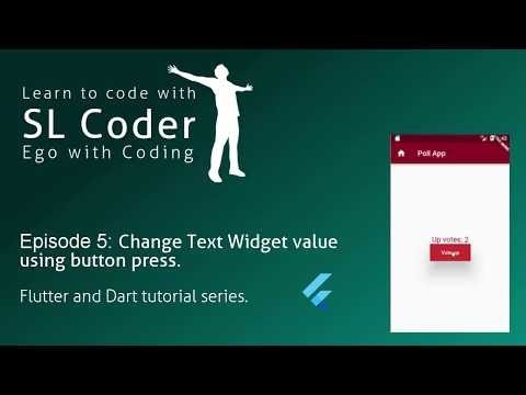 slcoder - Ego with Coding: Change Text Widget text using button