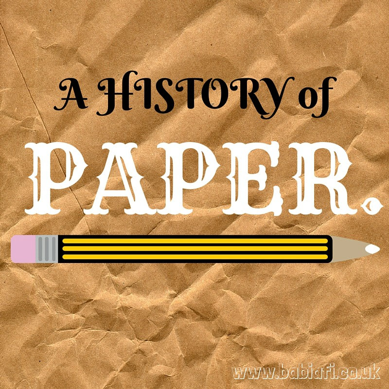 A History of Paper
