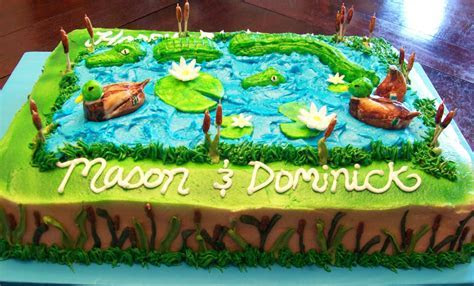 Alligator Cakes ? Decoration Ideas   Little Birthday Cakes