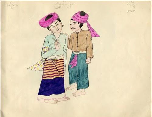 Tribes of Burma - Hkun 1900