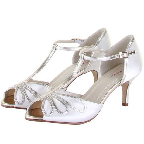 Rainbow Club Shoes Harlow   Dyeable Satin Wedding and