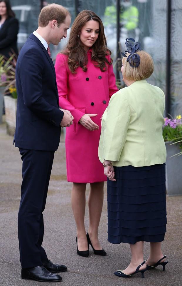 Kate Middleton e o marido, Príncipe William (Foto: Chris Jackson/Getty Images)