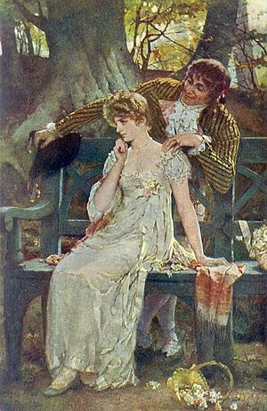 Doubts, Henrietta Rae, 1886