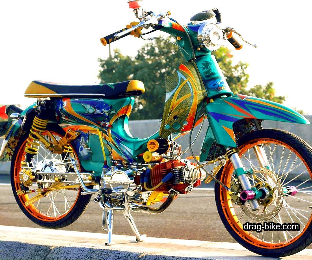 Download Kumpulan 82 Foto Modif Motor Honda C70 Terbaru Griya
