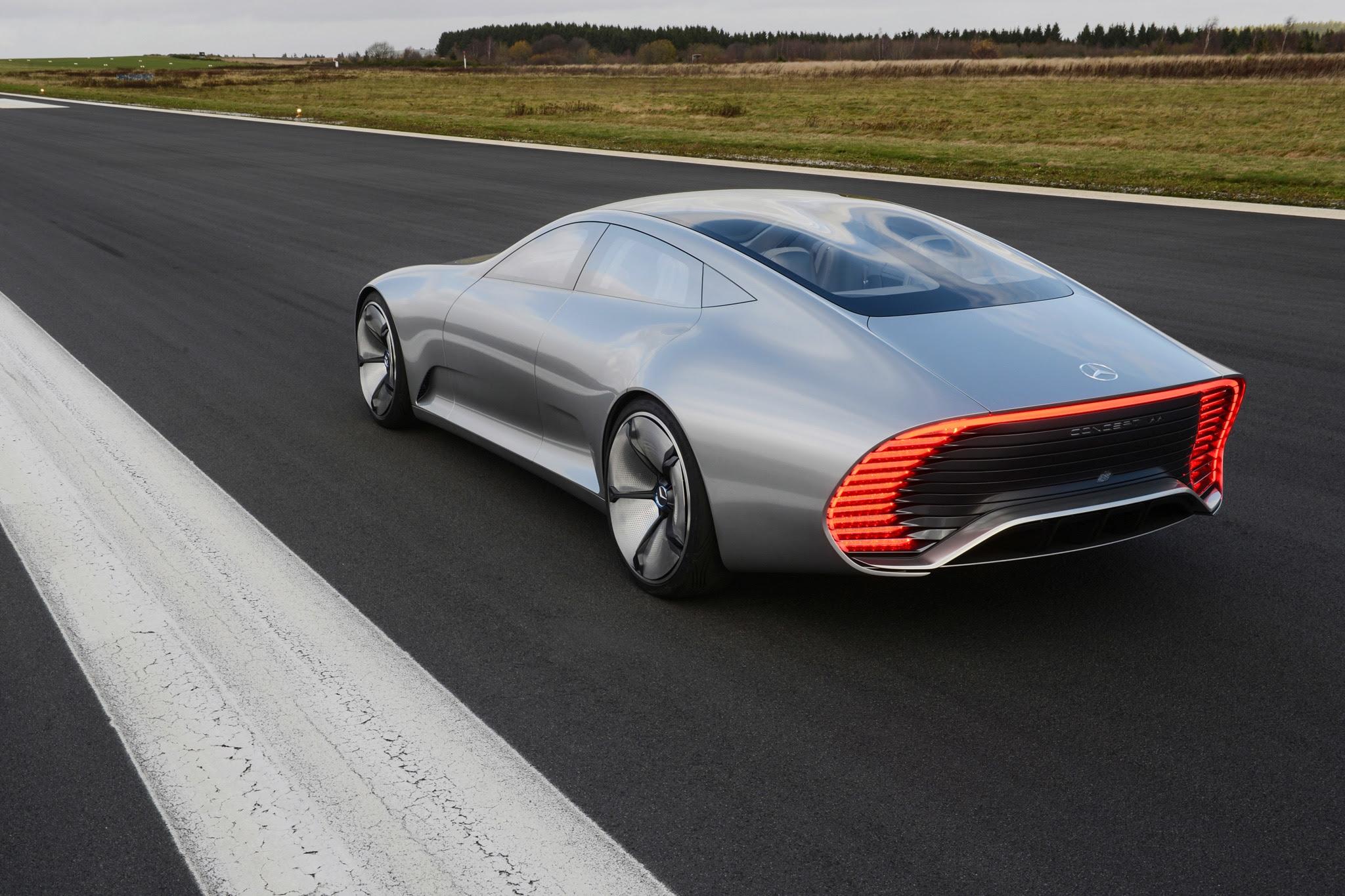 Mercedes-Benz Concept IAA Exclusive Drive