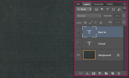 Chalk Text Effect step 4