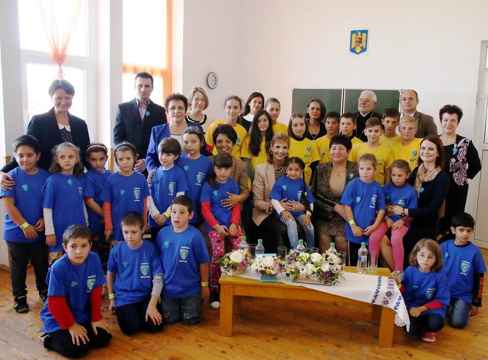 Principesa Maria, întâlnire cu elevii din Patrula de Reciclare