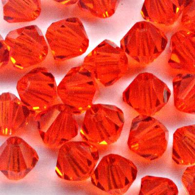27753011307236 Swarovski Bead - 4 mm Faceted Bicone (5301) - Hyacinth (36)