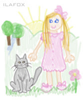 desenho de criança garatuja 7 a 8 anos