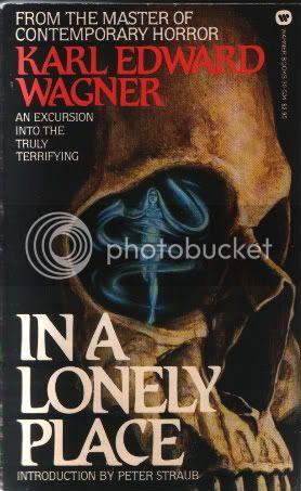 Resultado de imagem para In a Lonely Place de Karl Edward Wagner