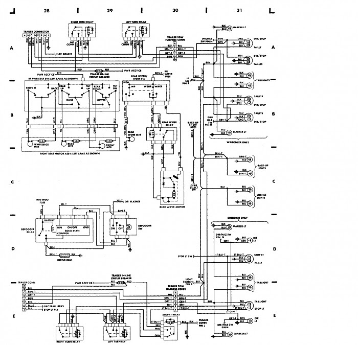 1987 Jeep Cherokee Wiring Harness Diagram Wiring Diagram Enter Enter Lechicchedimammavale It