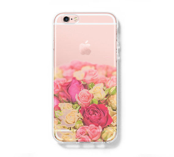Flowers Iphone 6 Case Iphone 6s Plus Case Galaxy S6 Edge Clear Hard