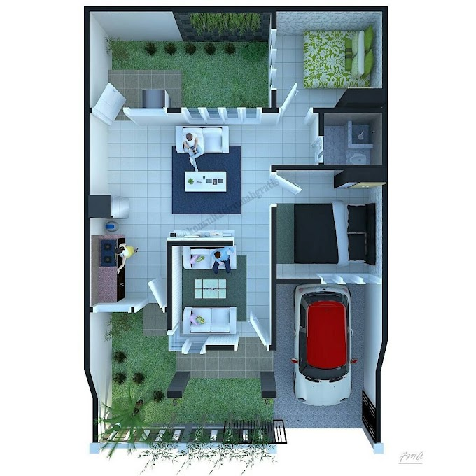 Arsitek Rumah Minimalis Type 36   Ide Rumah Minimalis
