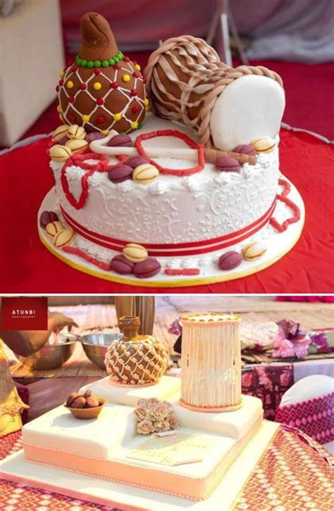 Traditional Wedding Cakes   Pictures from Weddings in Nigeria