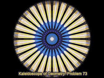 iPad Apps: Geometric Art:  Kaleidoscopic Patterns of Geometry Problem 71-80